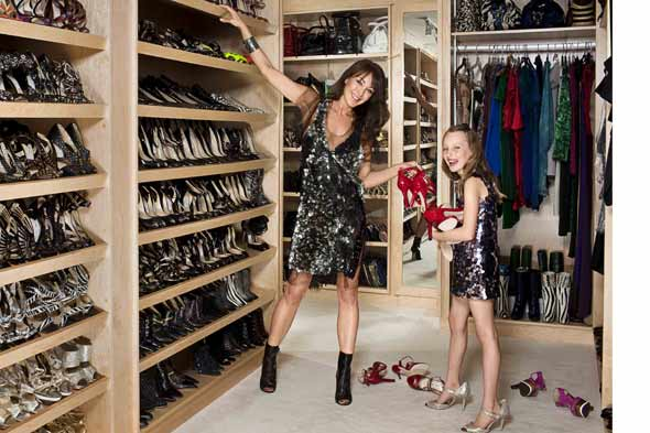 And Then We Hit The Mother Lode: Mellonu0027s Shoe Closet (get The Video Tour!)  Honestly, We Wish We Had A Budget Friendly Idea For Recreating The Look Of  ...