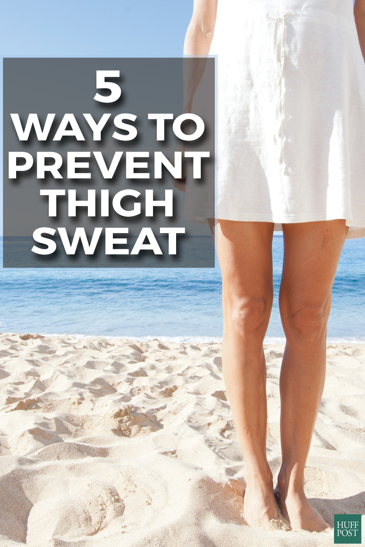 thigh sweat