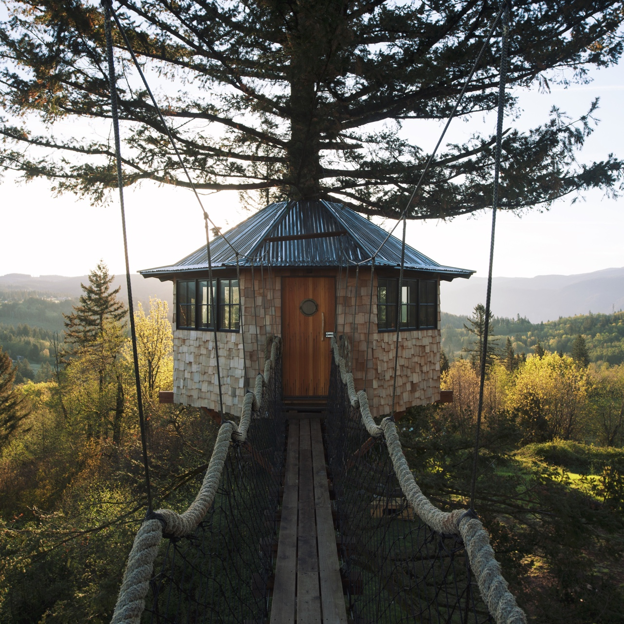 Foster Huntington Is Living Your Most Whimsical Treehouse Dreams ...