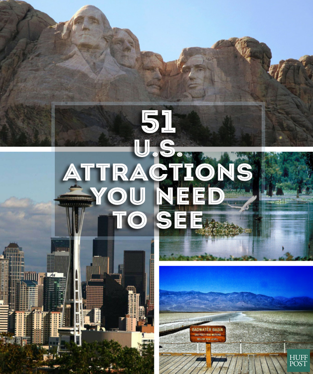 us attractions to see