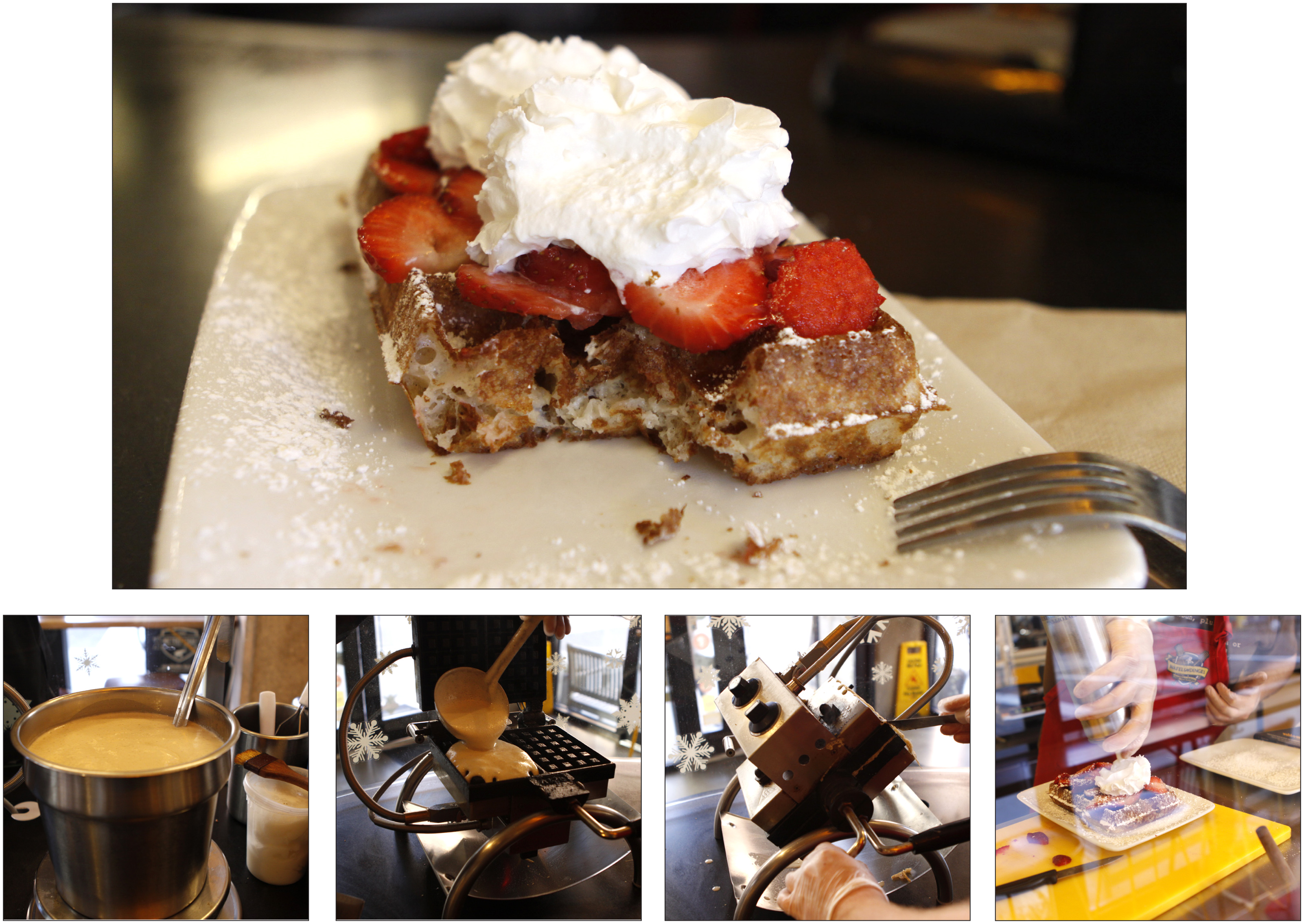 The History Of The Belgian Waffle, Which We've Apparently Been