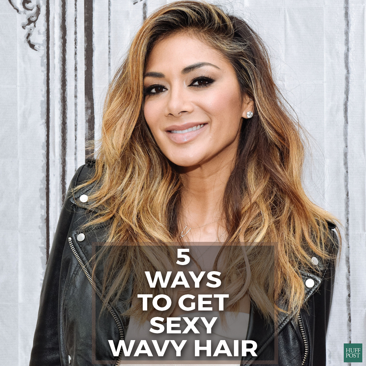 Tousled updos sexy wavy hair and more celebrity looks we loved nicole wavy hair pmusecretfo Image collections