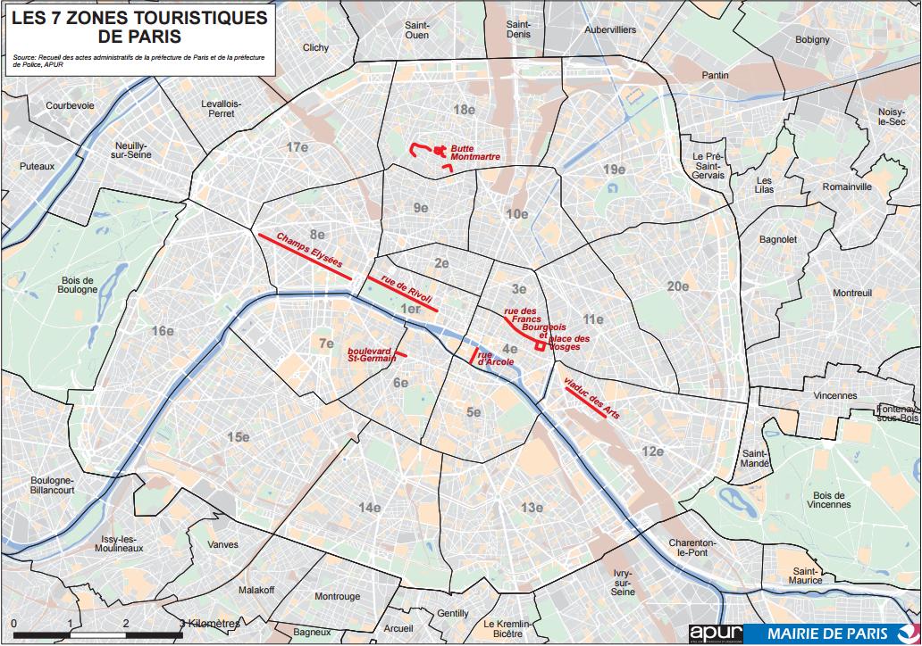 Ouverture le dimanche les nouvelles zones touristiques for Lieux touristiques paris